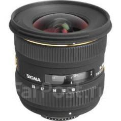 Sigma AF 10-20 mm F/4-5.6 ASP IF EX DC HSM для Nikon (Japan). Для Nikon, диаметр фильтра 77 мм