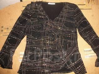 Блузка и нарядный свитерок одним лотом. 46