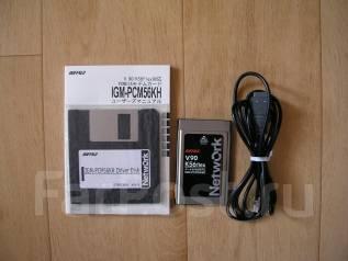 Высокоскоростной Pcmcia факс-модем 56К для ноутбука