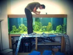 Обслуживание аквариумов во Всеволожске, чистка, установка