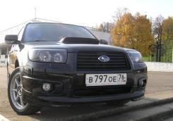Обвес кузова аэродинамический. Subaru Forester, SG5, SG9. Под заказ