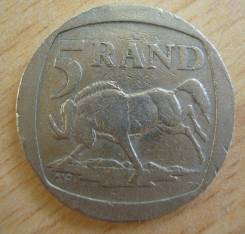 5 рандов, ЮАР, 1994 г.
