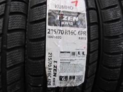 Kumho I'Zen KW15. Зимние, 2015 год, без износа, 4 шт