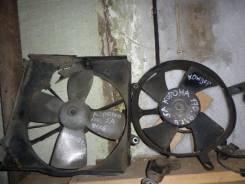 Вентилятор охлаждения радиатора. Toyota Corona, AT170 Двигатели: 5AFE, 5AF, 5A