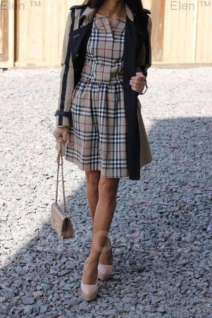 барбери платье фото
