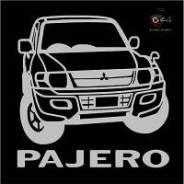 Наклейка. Mitsubishi Pajero