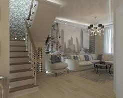 Дизайн-проект 6 ком. квартиры. Тип объекта квартира, комната, срок выполнения 3 месяца
