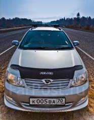 Накладка на фару. Toyota Corolla Fielder, ZZE124G, NZE124G, CE121G, NZE121G, ZZE123G, ZZE122G. Под заказ