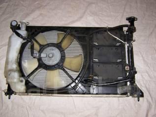 Радиатор охлаждения двигателя. Mitsubishi Colt