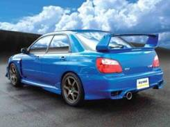 Порог пластиковый. Subaru Impreza WRX STI. Под заказ