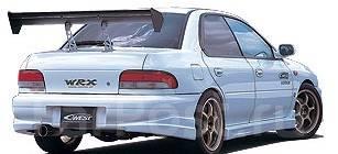 Накладка на бампер. Subaru Impreza WRX STI, GC8