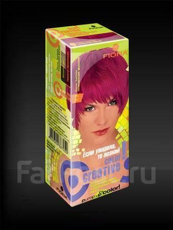 Цвет фуксия краска для волос