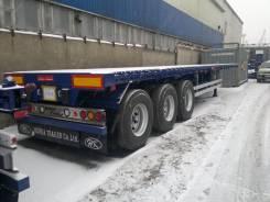 Korea Trailer. Полуприцеп-площадка-контейнеровоз, 40 000 кг. Под заказ