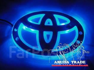 Подсветка под логотип, эмблему Toyota (Тойота) Синий (Отправка по РФ). Toyota: Hiace, Masterace, Town Ace, Cressida, Regius Ace