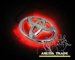Подсветка под логотип, эмблемы Toyota (Тойота) Красный (Отправка по РФ). Toyota: Hiace, Masterace, Town Ace, Cressida, Regius Ace