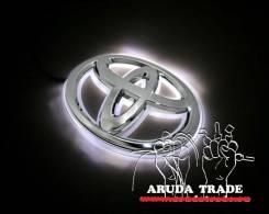 Подсветка под логотип, эмблемы Toyota (Тойота) Белый (Отправка по РФ). Toyota: Hiace, Master Ace Surf, Town Ace, Cressida, Regius Ace