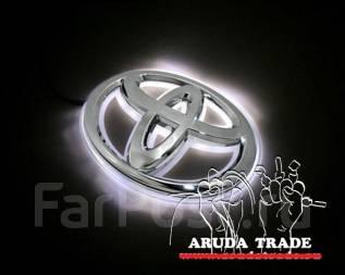 Подсветка под логотип, эмблемы Toyota (Тойота) Белый (Отправка по РФ). Toyota: Hiace, Masterace, Town Ace, Cressida, Regius Ace