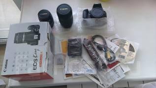 Canon EOS 1000D Kit. 10 - 14.9 Мп, зум: 7х
