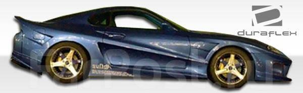 Порог пластиковый. Toyota Supra