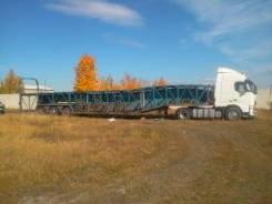 Huanda. Полуприцеп автовоз huanda 2008г. 10-МЕСТ., 20 000 кг.