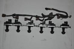 Катушка зажигания. Nissan: Cima, GT-R, Laurel, Leopard, Skyline, Cefiro, President Двигатели: VH41DE, RB20DE, RB25DE, RB20DT, RB20D, RB25DET, RB25D, R...
