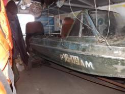Казанка-5М2. длина 4,60м., двигатель подвесной, 80,00л.с., бензин