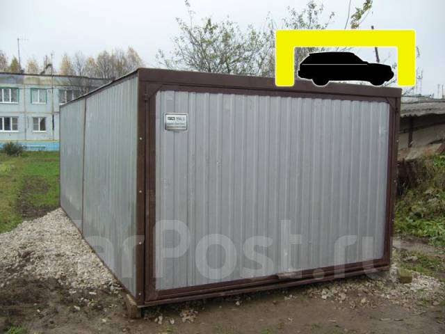 купить гараж разборный бу в москве