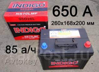Indigo. 85 А.ч., левое крепление, производство Корея