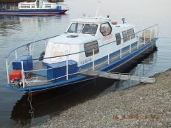Продам катера типа КС-110. Год: 2011 год, длина 12,50м., двигатель подвесной, 230,00л.с., бензин
