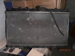 Радиатор охлаждения двигателя. Nissan Sunny, B15 Двигатели: QG18DD, QG13DE, QG15DE