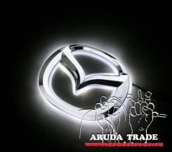 Подсветка под логотип, эмблему Mazda (Мазда) Белый (Отправка по РФ)
