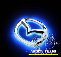 Подсветка под логотип, эмблему Mazda (Мазда) Синий (Отправка по РФ)