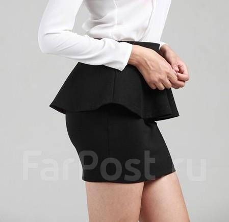 Zara черная юбка