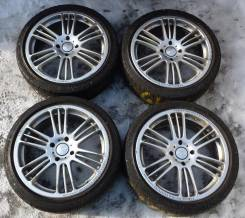 18 RAYS Frecce 4x114.3 + 225-40-18 BS Potenza RE750 #152. 7.5x18 4x114.30 ET42 ЦО 73,0 мм.