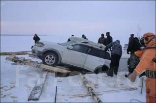 Подъём автомобилей из под льда