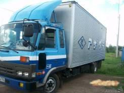 Mitsubishi Fuso. 1991 г. в. г/п 5 т., меб. фургон 5 тонн, 7 000 куб. см., 5 000 кг.