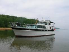Продается стальная моторная яхта. Год: 1991 год, длина 14,00м., двигатель стационарный, 240,00л.с., дизель