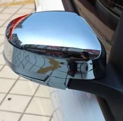 Накладка на зеркало. Nissan Navara Nissan X-Trail Toyota: Ipsum, Yaris, RAV4, Noah, Matrix, Succeed, Vitz, Nadia, Corona, Passo, Highlander, Avensis...