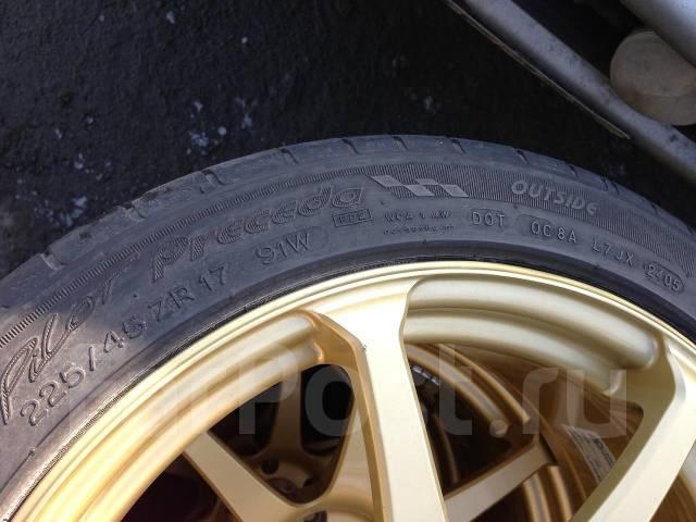 Michelin Pilot. Летние, износ: 40%, 4 шт