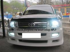 Решетка радиатора. Toyota Land Cruiser, UZJ100 Двигатель 2UZFE