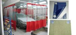 Шторы гаражные, цеховые, пологи из брезента и ПВХ, автотенты