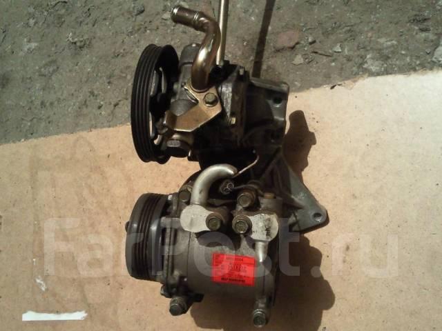 Компрессор кондиционера. Mitsubishi eK-Wagon Двигатель 3G83