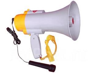 Мегафон с микрофоном HQ108 (с029) рупор