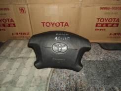Подушка безопасности водителя. Toyota Sprinter Carib, AE115G Двигатель 7AFE