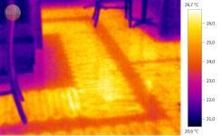 Теплые ПОЛЫ! Обследование тепловизором.