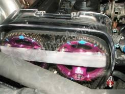 Крышка ремня ГРМ. Toyota Mark II, JZX90 Двигатель 1JZGTE