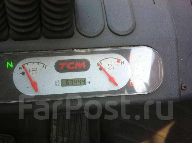 TCM FHD30T3. Японский вилочный погрузчик TCM, 2006г, дизель Kubota 3,3л, кабина, 3 300куб. см., 2 700кг.