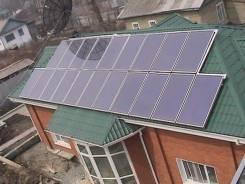 Проектирование, монтаж солнечного отопления.