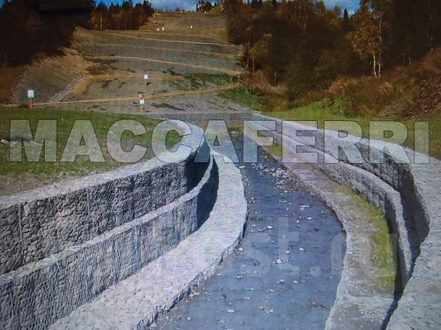 Подпорные стены с геосинтетикой