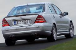 Спойлер. Mercedes-Benz C-Class, W203